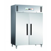 CABINET STAINLESS STEEL REFRIGERATED VENTILATED BASIC LINE POSITIVE 2 DOORS 1200 LITRES