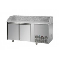 REFRIGERATED COUNTER FOR PIZZERIA GN 1/1 TD LINE - 150 cm 2 DOORS