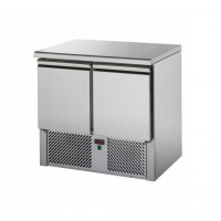 TD REFRIGERATED SALADETTE WITH STAINLESS STEEL TOP - 2 DOORS