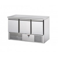 TD REFRIGERATED SALADETTE WITH GRANITE TOP - 3 DOORS