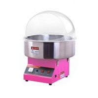 MACHINE FOR candy floss PROFESSIONAL the-COUNTER 520 mm + COVER