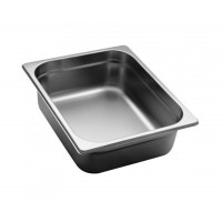 GASTRONORM STAINLESS STEEL GN 1/2 HEIGHT 10 cm
