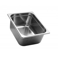 GASTRONORM STAINLESS STEEL GN 1/2 HEIGHT 15 cm