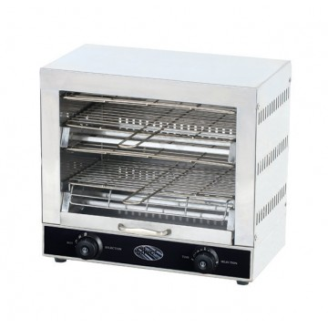 TOASTER-PROFESSIONAL OVEN FOR SANDWICHES AND TOAST - 2 GRILLS