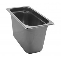 PAN GASTRONORM STAINLESS steel GN 1/3 HEIGHT 20 cm