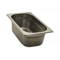 GASTRONORM STAINLESS STEEL GN 1/4 HEIGHT 10 cm
