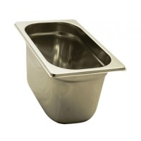 GASTRONORM STAINLESS STEEL GN 1/4 HEIGHT 15 cm