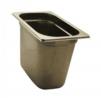PAN GASTRONORM STAINLESS steel GN 1/4 HEIGHT 20 cm