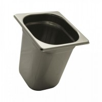 PAN GASTRONORM STAINLESS steel GN 1/6, HEIGHT 20 cm