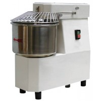 SPIRAL MIXER 10 Kg - 15 liters WITH FIXED HEAD