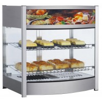 MAX HEATED COUNTER DISPLAY CABINET - 2 SHELVES