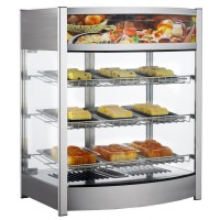 MAX HEATED COUNTER DISPLAY CABINET - 3 SHELVES