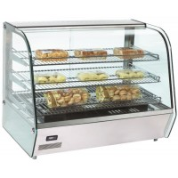 TOP MAX HEATED COUNTER DISPLAY CABINET - 3 SHELVES