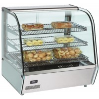 TOP MID HEATED DISPLAY CABINET - 3 SHELVES