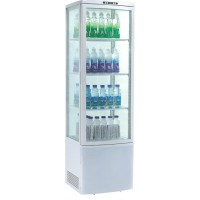 SHOWCASE FRIDGE COUNTER DISPLAY 4 SIDES AM SERIES - 235 LITERS