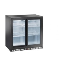 REFRIGERATED SHOWCASE BACK BAR AM SERIES - 2 SLIDING DOORS