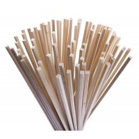 WOODEN STICKS FOR cotton candy, 28 cm - 100 PIECES