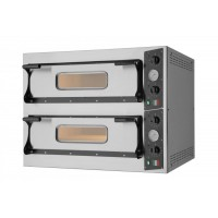 ELECTRIC OVEN FOR PIZZA BICAMERA mod.S 4 + 4 FOR 8 PIZZAS