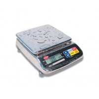 ELECTRONIC BALANCE PRECISION STAINLESS steel IP65 - CAPACITY 15 Kg, DIVISION 0.5 gr