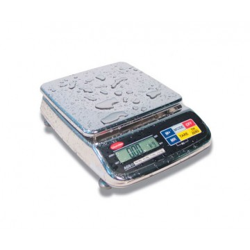 BENCH-SCALE STAINLESS steel IP65 PROFESSIONAL AGS - 3 Kg - div. 0,1/1gr