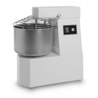 SPIRAL MIXER 6 Kg - 7 liters WITH FIXED HEAD - SINGLE PHASE 230V