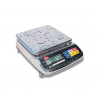 ELECTRONIC BALANCE PRECISION STAINLESS steel IP65 - CAPACITY 6 Kg - DIVISION 0,2 gr