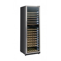 FRIDGE WINERY FOR WINE 155 BOTTLES - DOUBLE TEMPERATURE