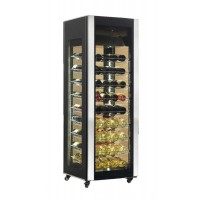EXHIBITION FRIDGE CELLAR FOR WINE 81 AK400WLUX BOTTLES