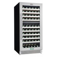 WINE FRIDGE FOR WINE 112 BOTTLES ENOLO VI120D DUAL TEMPERATURE