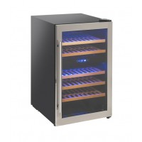 FRIDGE CELLAR FOR WINE 40 BOTTLES - DOUBLE TEMPERATURE