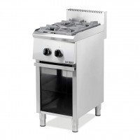 PROFESSIONAL GAS COOKER 202ST EUROCHEF 2 BURNES WITH PILOT FLAME