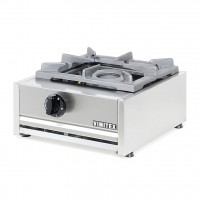 PROFESSIONAL GAS STOVE 201K EUROCHEF 1 FIRE - CAST IRON GRID