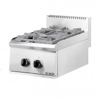 PROFESSIONAL GAS STOVE 202ST EUROCHEF 2 BURNES WITH PILOT FLAME