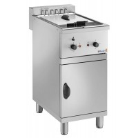 ELECTRIC FRYER ON MOBILE FC16M - 16 LITER TANK