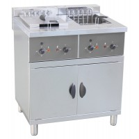 ELECTRIC FRYER ON MOBILE FC250M - 2 TANKS 25 + 25 LITERS