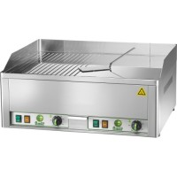 DOUBLE ELECTRIC FRY TOP PLATE FRY2LRC - MIXED CHROME PLAN