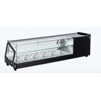 COUNTER DISPLAY CABINET FOR TAPAS AK413VTB - 4 x GN 1/3