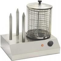 MACHINE FOR HOT DOG SH3 COOKING WURSTEL + 3 STEMS WARMER BREAD