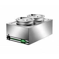 BAIN MARIE BM116 1000W FOR 1 GN 1/1 CONTAINER