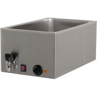 BAIN MARIE BM116R 1000W FOR 1 GN 1/1 CONTAINER