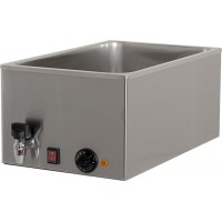 BAIN MARIE BM121R 1000W FOR 1 GN 1/1 CONTAINER