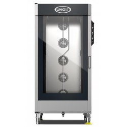 CONVECTION OVEN UNOX CHEFLUX XV1093 + TROLLEY - 20 TRAYS GN 1/1