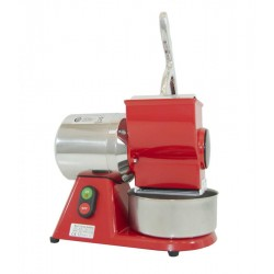 RED ELECTRIC GRATER - 400V - STAINLESS STEEL ROLL