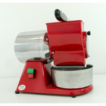 RED ELECTRIC GRATER - 400V - REMOVABLE STAINLESS STEEL ROLL