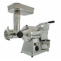 MEAT MINCER GRATER TG 12 - 230V - STAINLESS STEEL GROUP + ROLL