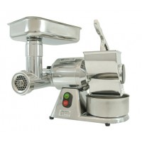 MEAT MINCER GRATER TG 8 - 400V - ALUMINUM GROUP + STAINLESS STEEL ROLL