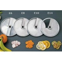 STAINLESS STEEL CUTTER DISC FOR SLICED CUT - THICKNESS 6-8-10-14 mm