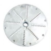 DISC FOR VEGETABLE CUTTER FOR LEAVING AND GRATING - THICKNESS 2-3-4-7 mm