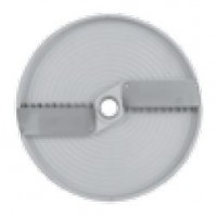 DISC FOR VEGETABLE CUTTER FOR CUTTING WITH CURVED STRIPS - THICKNESS 2,5-4-6-8-10 mm