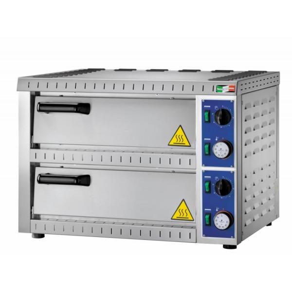 Forno elettrico per pizzeria bicamera mod b1 1 per 2 pizze - Miglior forno elettrico per pizzeria ...